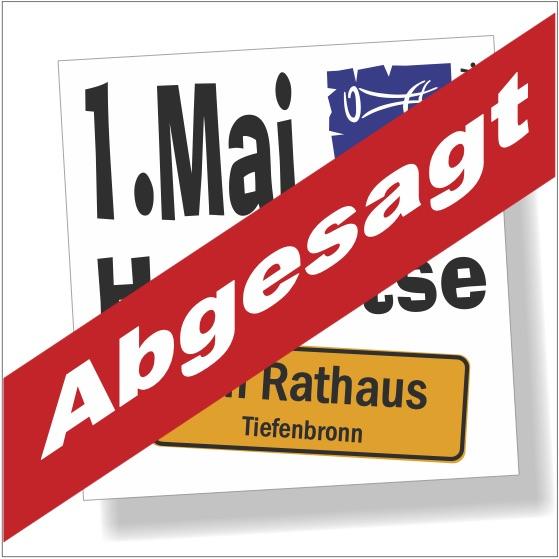 1Mai20-Absage